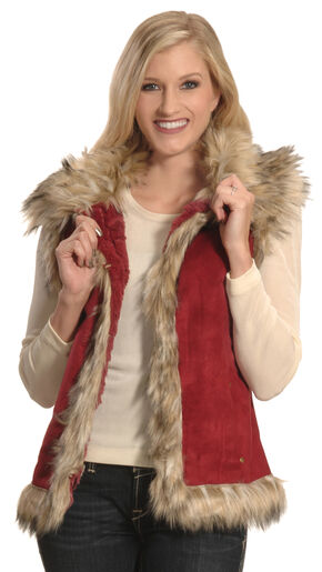 Tasha Polizzi Women's Ruby Luxe Vest , Ruby, hi-res