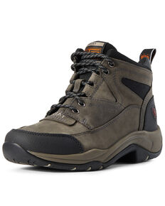 Ariat Women's Terrain Shadow Work Boots - Soft Toe, Grey, hi-res
