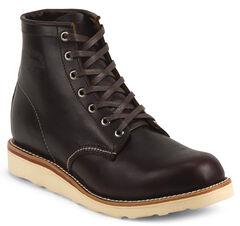 Chippewa Men's Cognac General Utility Boots - Round Toe, Cognac, hi-res