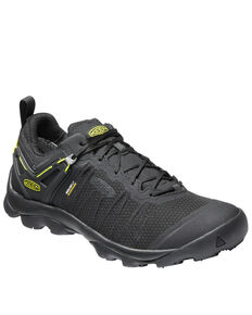 Keen Men's Venture Waterproof Hiking Boots - Soft Toe, Black, hi-res