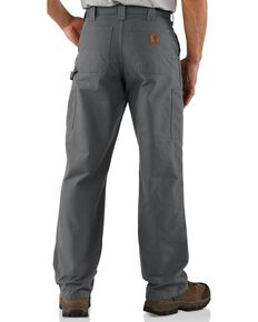 Carhartt Canvas Dungaree Work Pants, Fatigue, hi-res