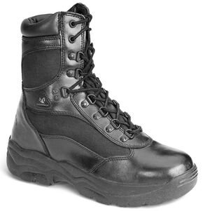 "Rocky 8"" Fort Hood Waterproof Duty Boots, Black, hi-res"
