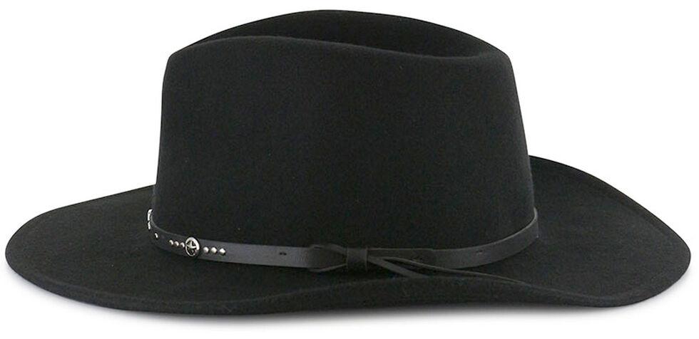Cody James Men's Sedona Wool Hat, Black, hi-res