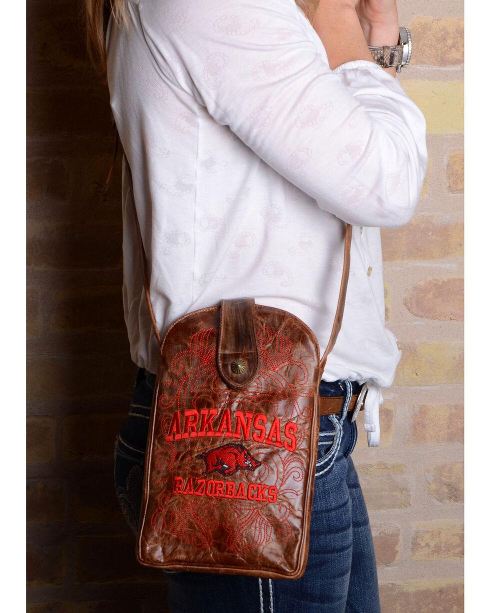 Gameday Boots University of Arkansas Crossbody Bag, , hi-res