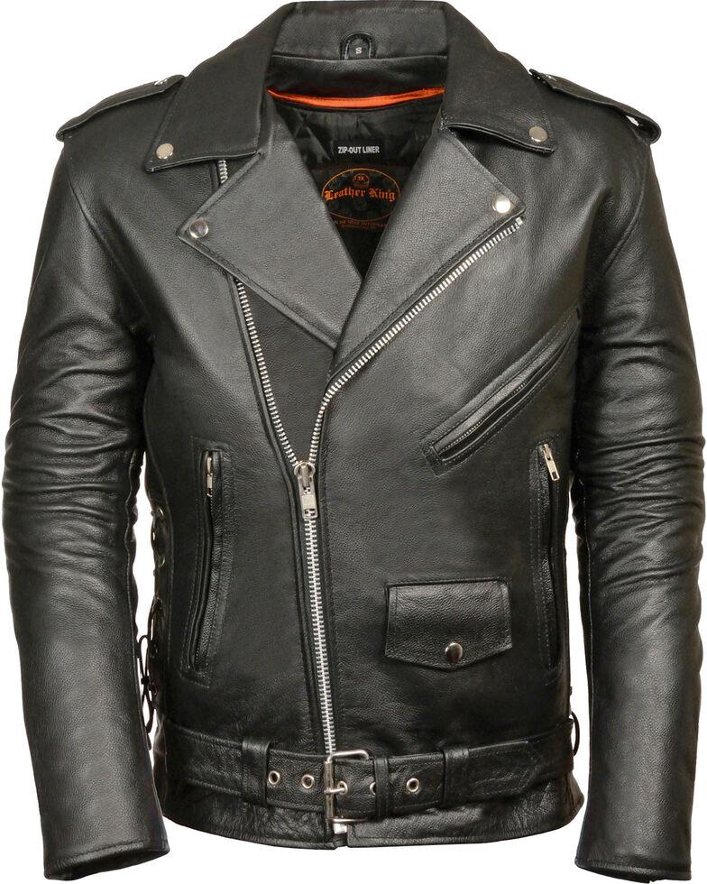 Amazon.com: Milwaukee Leather SH1011 Mens Classic Side