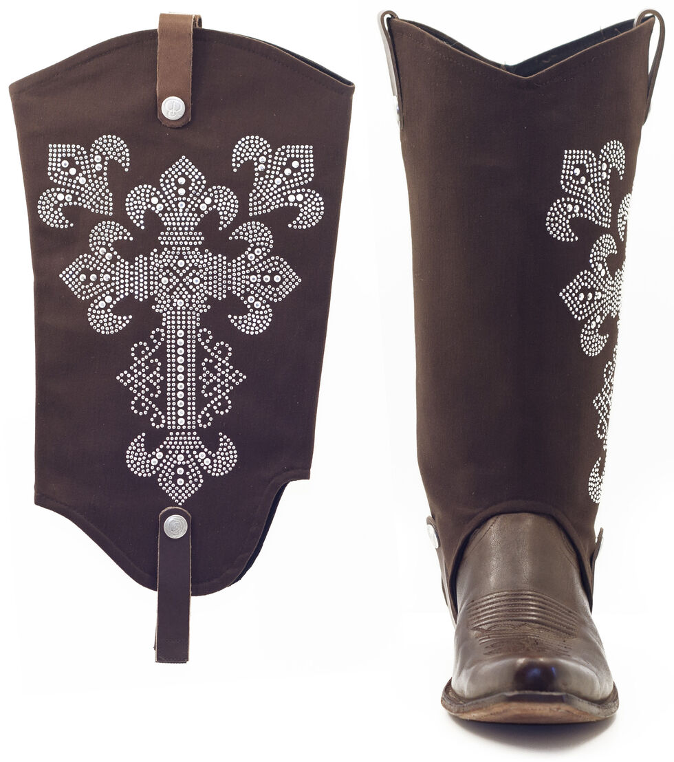 BootRoxx Hope Chocolate Boot Rugs, Brown, hi-res