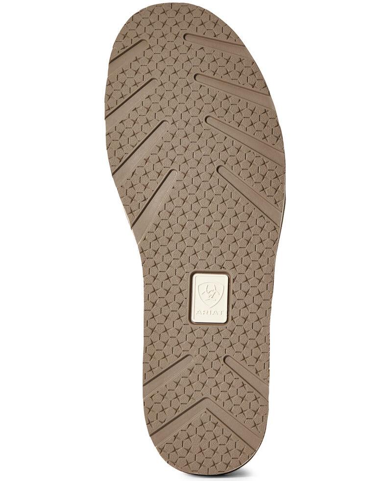 Ariat Women's Floral Cruiser Shoes - Moc Toe, Brown, hi-res