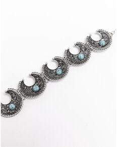 Shyanne Women's Roaming West Crescent Bracelet, Silver, hi-res