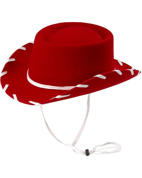 Children's Red Woody Cowboy Hat, Red, hi-res