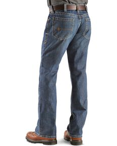 Ariat Flint Fire Resistant Bootcut Work Jeans, Denim, hi-res