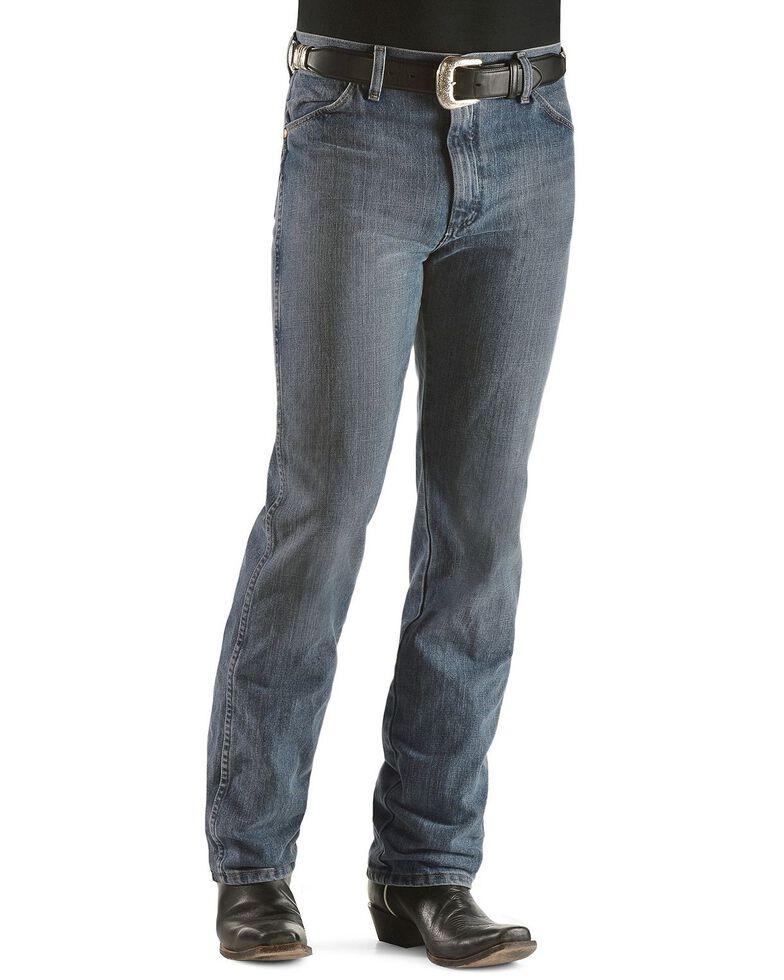 Wrangler Men's 936 Cowboy Cut Slim Fit Prewashed Jeans, Rough Stone, hi-res