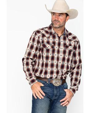 Cody James Men's Plaid Long Sleeve Fort Yukon Shirt , Blue, hi-res