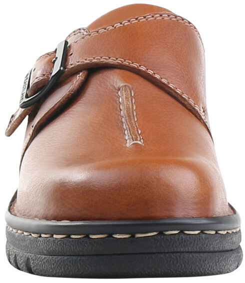 Eastland Women's Tan Syracuse Slip-On Shoes , Tan, hi-res
