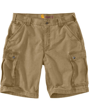 Carhartt Rugged Cargo Work Shorts, Beige, hi-res