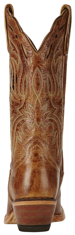 Ariat Women's Tan Bristol Boots - Square Toe, Tan, hi-res