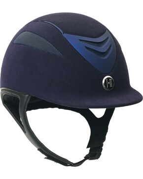 One K Defender Suede Helmet, Navy, hi-res