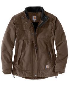 Carhartt Women's Quick Duck Jefferson Traditional Jacket , Dark Grey, hi-res