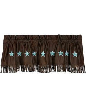 HiEnd Accents Turquoise Laredo Valance, Multi, hi-res