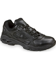 Thorogood Men's Ultra Light Tactical Oxfords - Soft Toe, Black, hi-res