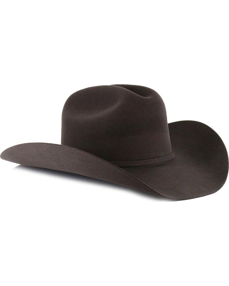 George Strait by Resistol Logan 6X Black Fur Felt Cowboy Hat  a41f0f96c5b2