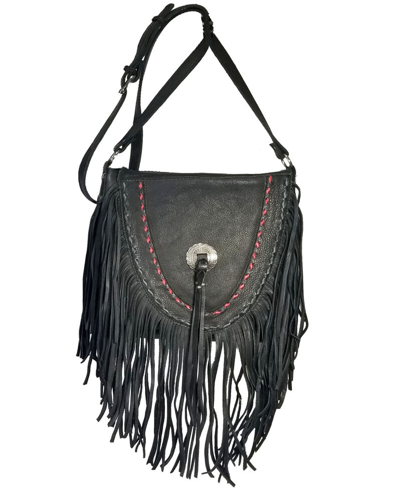 Kobler Leather Women's Black Supai Crossbody Bag, Black, hi-res