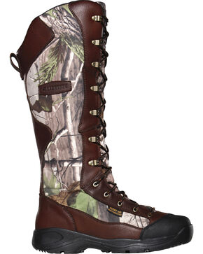 LaCrosse Men's Venom Scent Realtree APG HD Snake Boots - Round Toe , Camouflage, hi-res