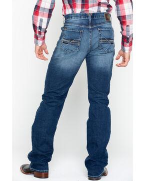 Ariat Men's Blue M4 Relaxed Fit Jeans - Boot Cut , Blue, hi-res