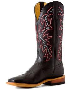 Horse Power Men's Black Magic Western Boots - Square Toe, Black, hi-res