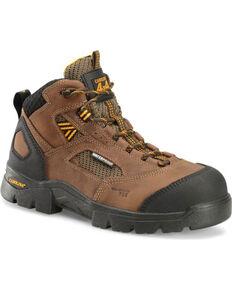 Double H Men's Shenandoah Waterproof Work Boots - Composite Toe, Dark Brown, hi-res