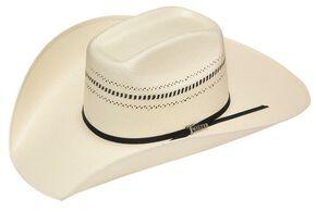 Twister 10X Shantung Colton Straw Cowboy Hat, Natural, hi-res