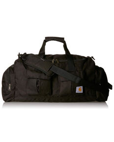 "Carhartt Black Legacy 25"" Utility Duffel Work Bag , Black, hi-res"