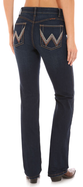 Wrangler Women's Ultimate Riding Indigo Q-Baby Jeans - Boot Cut , Indigo, hi-res