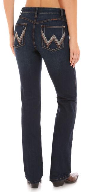 Wrangler Women's Ultimate Riding Indigo Q-Baby Jeans - Boot Cut , Indigo, hi-res