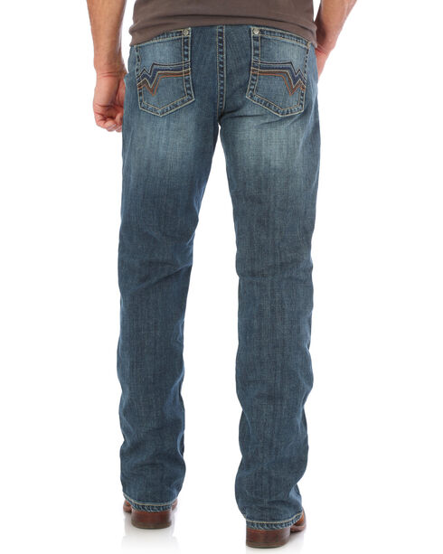 Wrangler Men's Indigo Stretch Denim 20X Vintage Jeans - Boot Cut , Indigo, hi-res