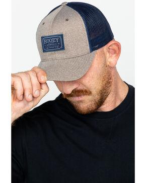HOOey Men's Mercantile Co. Logo Trucker Cap, Brown, hi-res