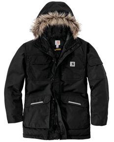 Carhartt Men's Black Yukon Extremes Insulated Work Parka Jacket , Black, hi-res