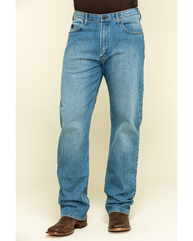 Wrangler 20X Men's Blue Mountain Active Flex Relaxed Fit Jeans , Blue, hi-res
