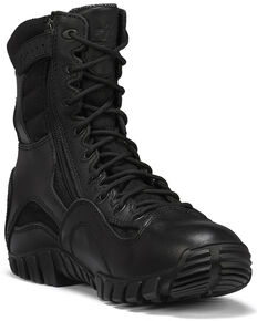 Belleville Men's TR Khyber Waterproof Military Boots, Black, hi-res