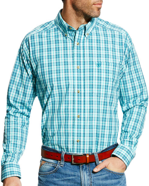 Ariat Men's Pro Series Ellis Plaid Long Sleeve Button Down Shirt - Big & Tall, , hi-res
