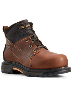 Ariat Men's Workhog XT Waterproof Work Boots - Carbon Toe, Brown, hi-res