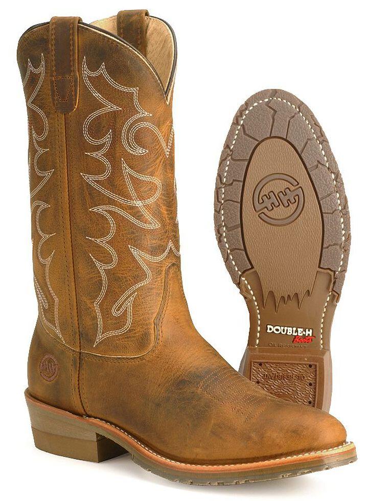 ea590b7fd67 Double H Men's Gel Ice Work Boots - Steel Toe