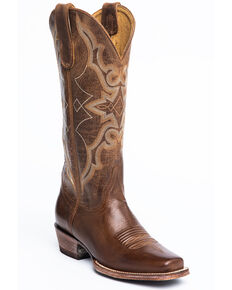 Idyllwind Women's Relic Western Boots - Narrow Square Toe, Brown, hi-res