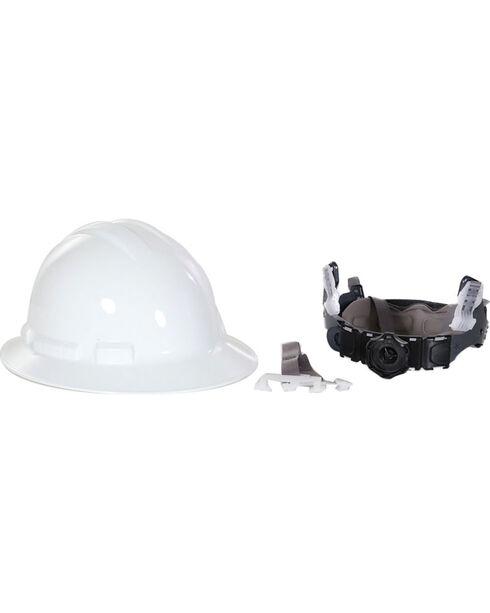 Radians White Quartz Full Brim Hard Hats , White, hi-res