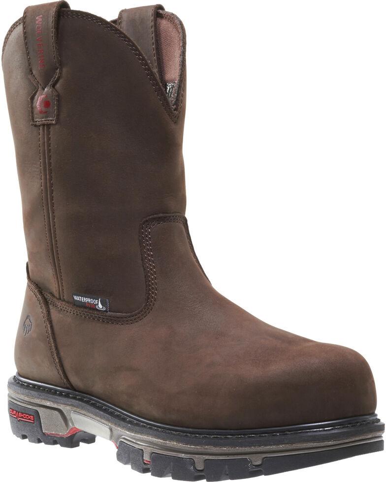 c9db96c5b743 Wolverine Men s Nation DuraShocks Wellington Work Boots - Composite ...