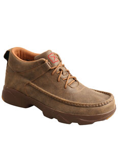 Twisted X Men's Brown Crossover Casual Boots - Moc Toe, Brown, hi-res