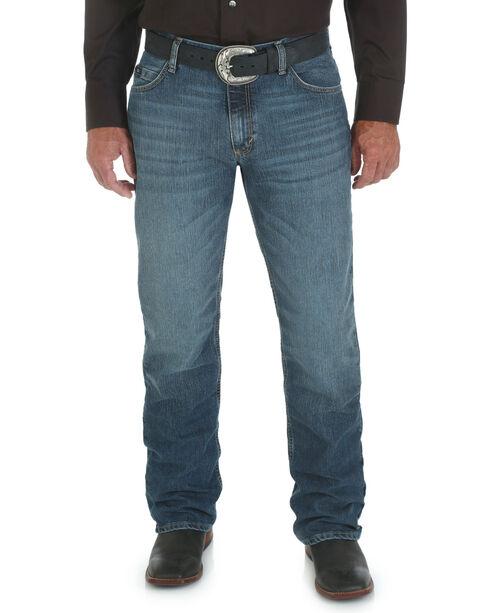 Wrangler Men's 20X Cool Vantage Competition Slim Jeans - Storm Blue - Tall, Denim, hi-res