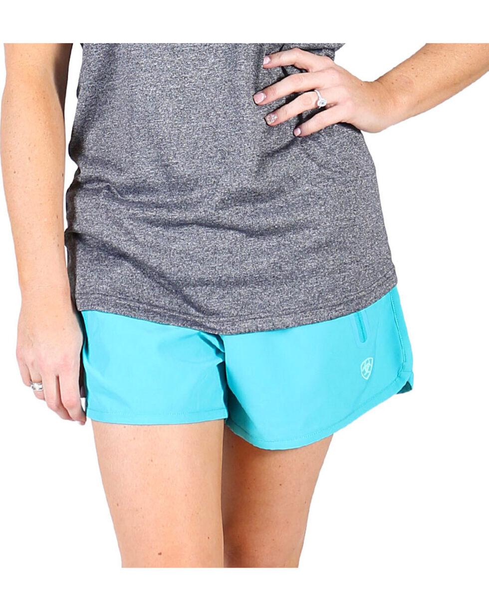 Ariat Women's Bluebird Mesa Shorts , Blue, hi-res