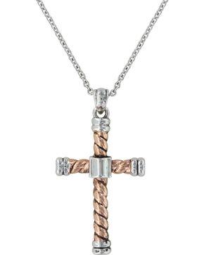 Montana Silversmiths Faith Is An Open Book Necklace, Multi, hi-res