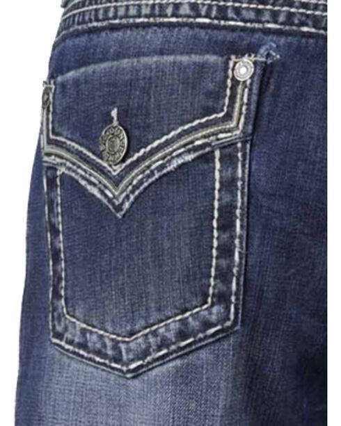 Stetson Rocker Fit Flap Pocket Jeans - Big and Tall, Denim, hi-res