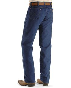"Wrangler Jeans - 13MWZ Original Fit Prewashed Denim - Big 44"" to 52"" Waist, Indigo, hi-res"